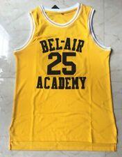 Carlton Banks #25 The Fresh Prince Of Bel-Air Basketball Jersey Sewn S-3XL