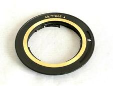 C/Y CY Lens to Canon EOS EF EF-S Camera Lens Mount Adapter 70D 7D 5D CYEOSBG