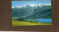 Switzerland Chairlift Beatenberg Niederhorn1950's vintage card unposted