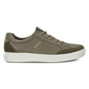 Men's ECCO Shoes Soft 7 M Sneaker Tarmac/Dark Clay Size EU 43 (US 9 - 9.5)