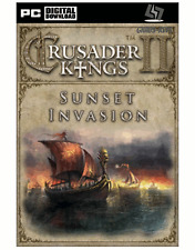 Crusader Kings II-Sunset Invasion DLC Steam Key Code PC [livraison rapide]