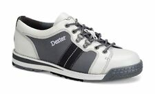 Dexter SST Tank Men's Bowling Shoes White Grey Black Size 11.5 RIGHT HAND ONLY