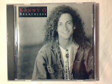 KENNY G Breathless cd USA AARON NEVILLE PEABO BRYSON PAULINHO DA COSTA