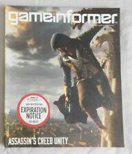 Game Informer Video Game Magazine #257 September 2014  ASSASSINS CREED UNITY