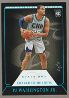 PJ Washington 2019-20 Panini Chronicles Black Box Holo Blue Rookie 1/1 Hornets