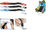 18 Maped Kugelschreiber Visio Pen für Linkshänder ergonomisch M blau schwarz rot