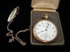 Bend Pocket Watch,Wind-Up,Runs! New listing