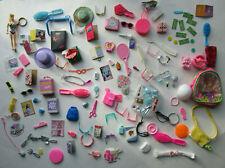 Mega Barbie Accessory 100 + Piece Lot- Glasses, Bags, Hats, Necklaces +