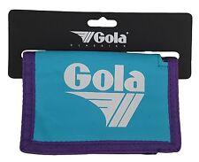 GOLA PORTAFOGLIO in nylon con tasca monete-cub300 Blu/Blu Marino/di Prugno