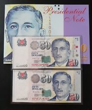 Transition Of BCCS TO MAS Identical Number Set Commemorative Note UNC