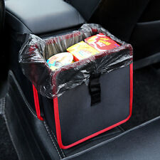 Car Waste Basket Leak Proof Trash Bag Car Litter Garbage Bin Wastebasket Holder