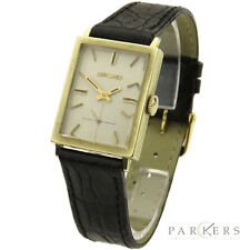 LONGINES VINTAGE 14K GOLD HAND-WIND MECHANICAL WRISTWATCH DATING CIRCA 1966