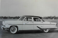 "1955 Lincoln Capri 4 door Sedan 12 X 18"" Black & White Picture"