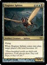 MAGISTER SPHINX Conflux MTG Gold Artifact Creature — Sphinx RARE
