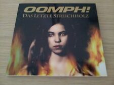 OOMPH!  DAS LETZTE STREICHHOLZ  SINGLE CD DIGIPACK 5 SONGS