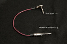 "Evidence Audio 18"" Monorail Solid Core Patch Cables Switchcraft 228 Pancake - ST"
