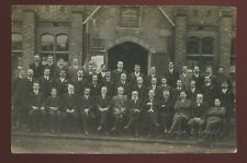 Coventry LORD ST School Group Queens Road Chapel Embossed Ernest Appleby RP PPC