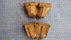 MOSIN NAGANT,PORTE CHARGEUR CUIR,TIR,TAR,WWII