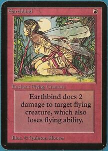 Earthbind Alpha PLD Red Common MAGIC THE GATHERING CARD (ID# 240165) ABUGames