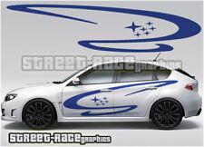 Subaru Impreza Rally Touring car 017 graphics stickers decals