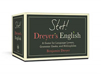 `Stet! Dreyer`S English: A Game For Language Lovers, Grammar (US IMPORT) ACC NEW