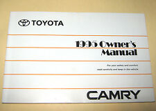 1995 TOYOTA CAMRY USER OWNER MANUAL HANDBOOK GUIDE INFORMATION BOOK