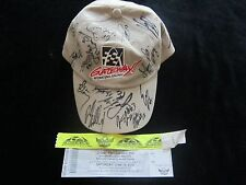 Signed GATEWAY St Louis HAT Autograph DRIVERS Signatures CAMPING WORLD TRUCK