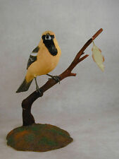 Hooded Oriole Original Wood Carving