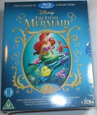THE LITTLE MERMAID 3-MOVIE COLLECTION New Disney Blu-Ray Trilogy return to sea 2