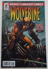 NEW SIGNED JOHN ROMITA JR  WOLVERINE: Enemy Of The State #1 Wondercon MARVEL 20