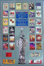 1991 Indianapolis 500 75TH Running event collector poster Indy program covers