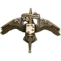 U.S. MARINE CORPS BADGE:MARSOC BRONZE MARINE CORPS FORCES SPECIAL OPERATIONS