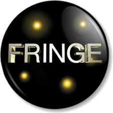 "Fringe Logo 25mm 1"" Pin Button Badge TV Series Sci-Fi FBI Emblem Title Symbol"