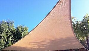 3.6m Sail Shade - 3 colours - Garden Shade / Sun Shade