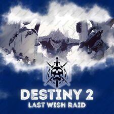 Destiny 2 Last Wish Raid Full Completion PS4