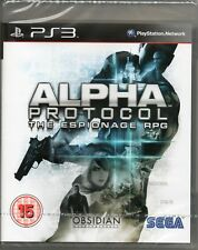 ALPHA PROTOCOL: THE ESPIONAGE RPG GAME PS3 ~ NEW / SEALED