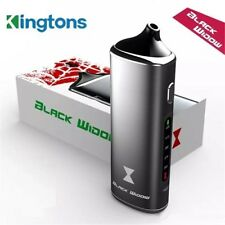 Kingtons Black Widow AUTHENTIC COMPLETE KIT Electronic RECHRG Dry, Wax Oil Vape