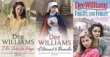 DEE WILLIAMS ___ 3 BOOK SET ___ BRAND NEW __ FREEPOST UK