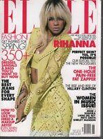 Elle Fashion Magazine May 2012 Rihanna Hillar Clinton Patti Smith 090919AME