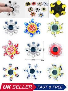 New Fidget Finger Spinner Hand Focus Ultimate Spin EDC Stress Toys UK Seller