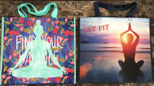Lot Of 2 NEW TJ Maxx Reusable Shopping Bag Tote Eco Friendly 20x17.5x7 Spacious!