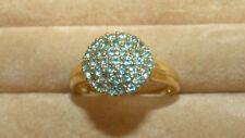 Alexandrite Cluster Gold Ring