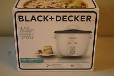 Black and Decker 14 Cup Rice Cooker and Steamer  New in Box