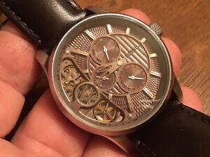 """Men's FOSSIL """"Twist"""" Multi-Function Hybrid Watch ME1098 w/ New Battery"""