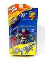 Mattel Disney Toy Story 2 Twin Rocket Force Buzz Action Figure NISP RARE VHTF