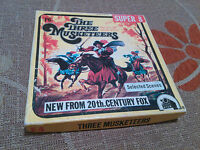 SUPER 8 FILM - THE THREE MUSKETEERS BLACK&WHITE 1973