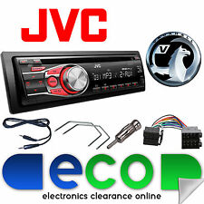 Vauxhall Astra G MK4 1999-2004 JVC Car Stereo Radio CD MP3 AUX In Upgrade Kit