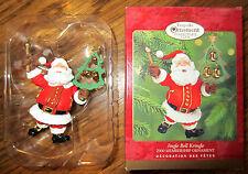 Hallmark Keepsake Ornament Jingle Bell Kringle 2000 Membership Santa Kris Bells