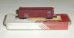 Red Caboose RN-17050 New York Central 40' Box Car NYC 128053 N Scale