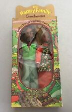 1975# SUNSHINE FAMILY BLACK GRANDPARENTS GRANDMA GRANDPA DOLLS#NIB